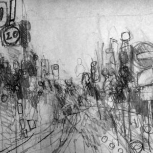Edinburgh Urban Sketch