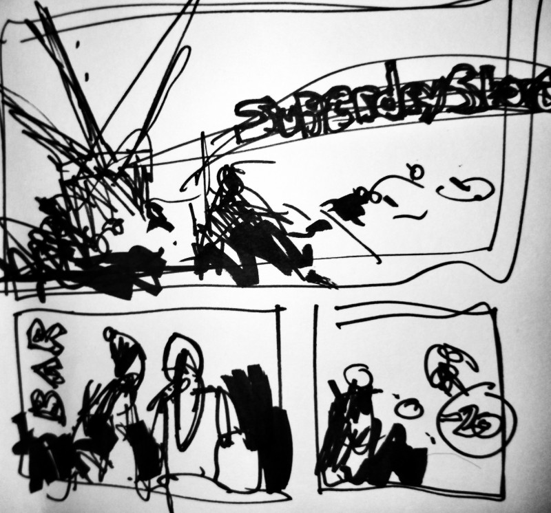 Stansted Airport urbansketch