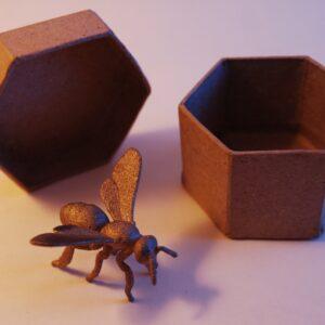 Honeybee 3D Print Art