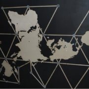 Buckminster Fuller Dymaxion Map London FabLab