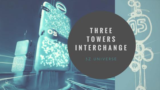 three towers interchange