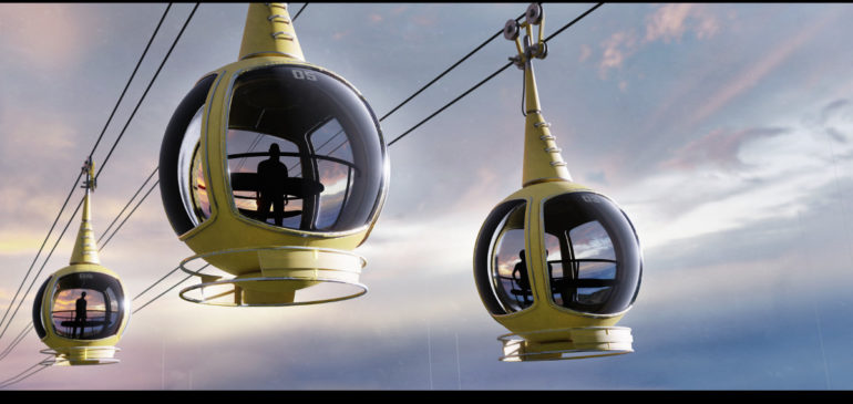 Cable Cars Over The World